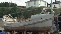 The lifeboat was fully restored in 2002 | James Stevens No 10 lifeboat